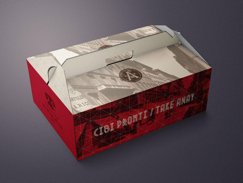packaging take-away ristorante arlù