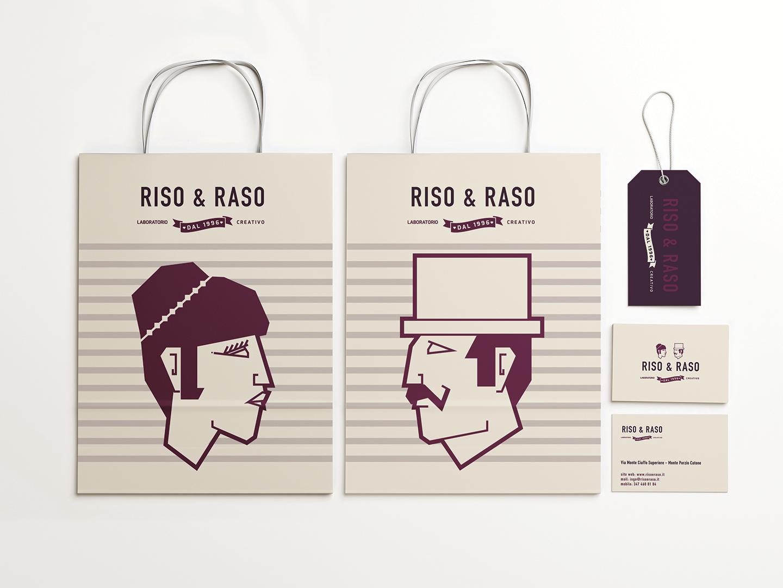 brand identity riso e raso