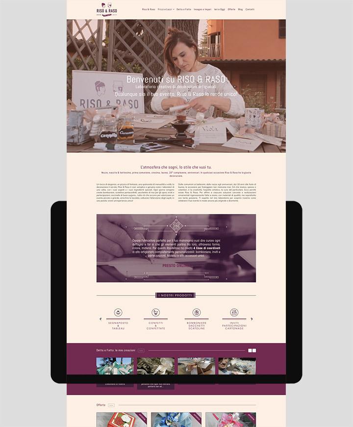 sito web riso e raso